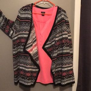 Torrid Blouse and Sweater combo